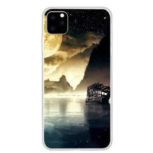 Husa Apple iPhone 11 Pro model Moon Shine, Antisoc , TPU, Viceversa Multicolor
