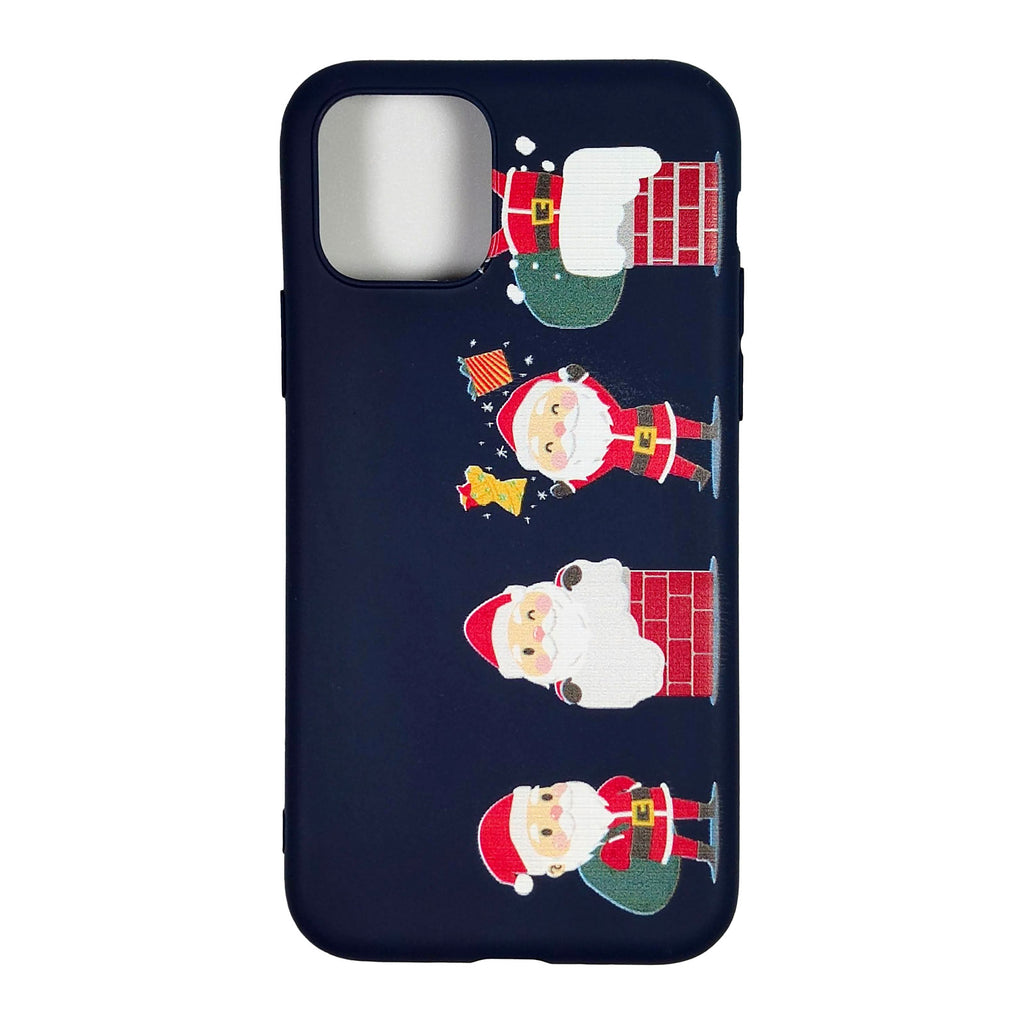 Husa Craciun Apple iPhone 11 Pro Max model Santa Claus, Silicon, Antisoc, Viceversa Multicolor