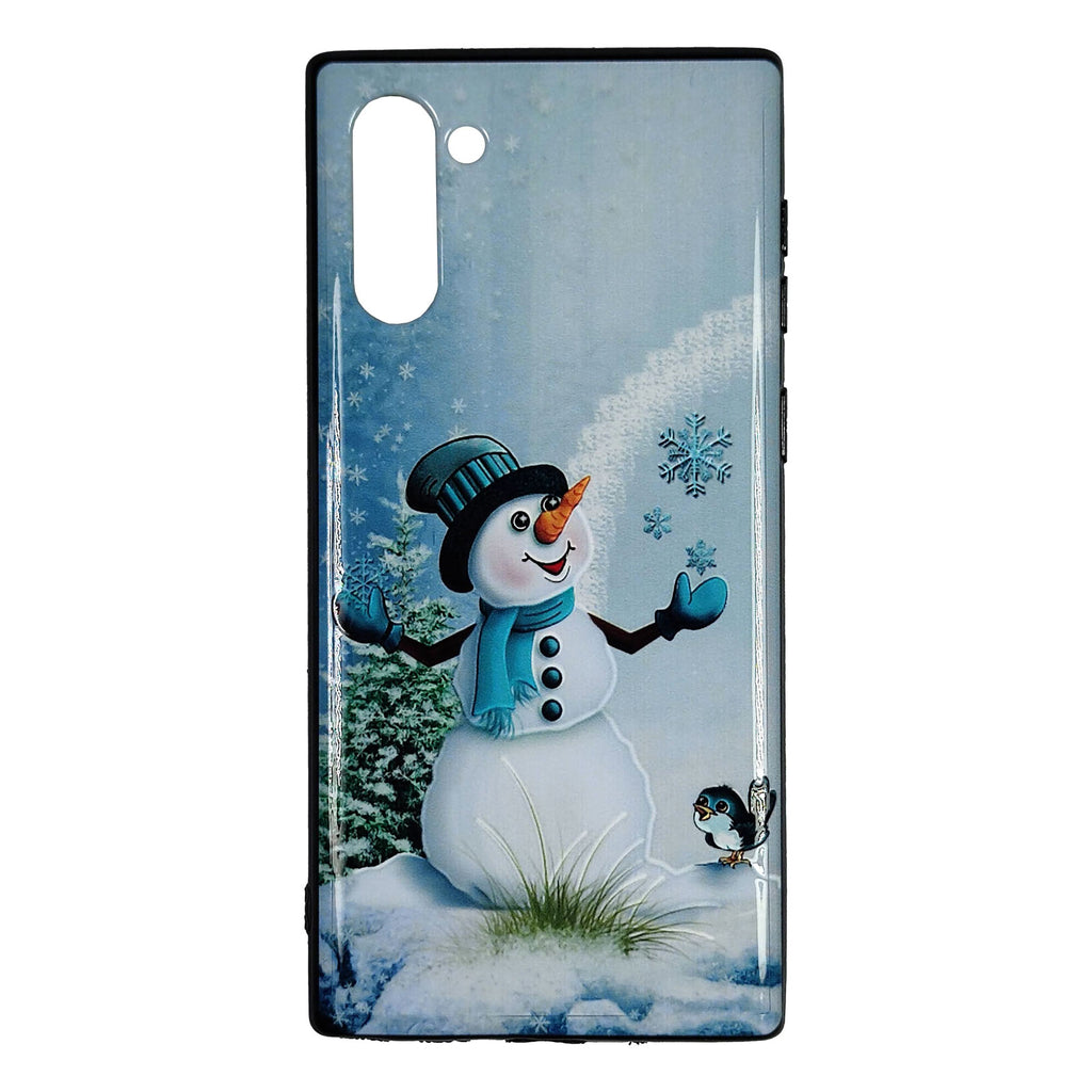Husa Craciun Samsung Galaxy Note 10 / Note 10 5G Model Snowman, TPU, Viceversa Multicolor
