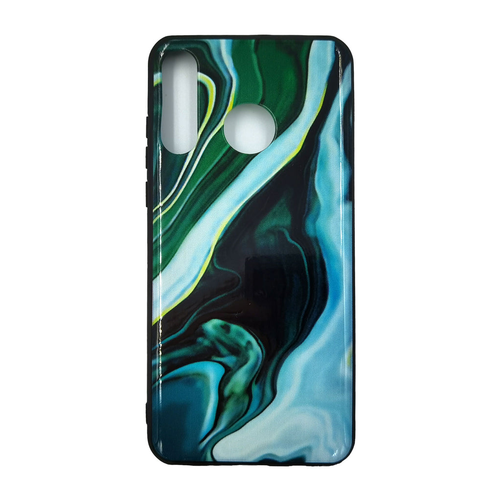 Husa Huawei P30 Lite model Emerald, Antisoc, TPU+PC, Viceversa Verde