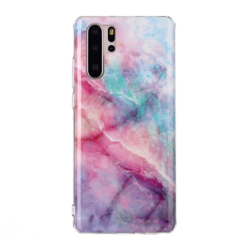 Husa Huawei P30 Pro model Crystal Marble, Silicon, Antisoc, Viceversa Multicolor