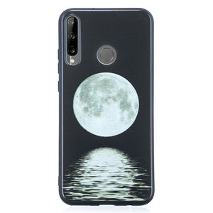 Husa Huawei P40 Lite E model Moonlight, Silicon, Antisoc, Viceversa Negru/Alb