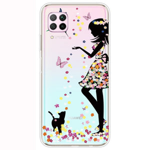 Husa Huawei P40 Lite model Butterfly Dress, Silicon, TPU, Viceversa Multicolor