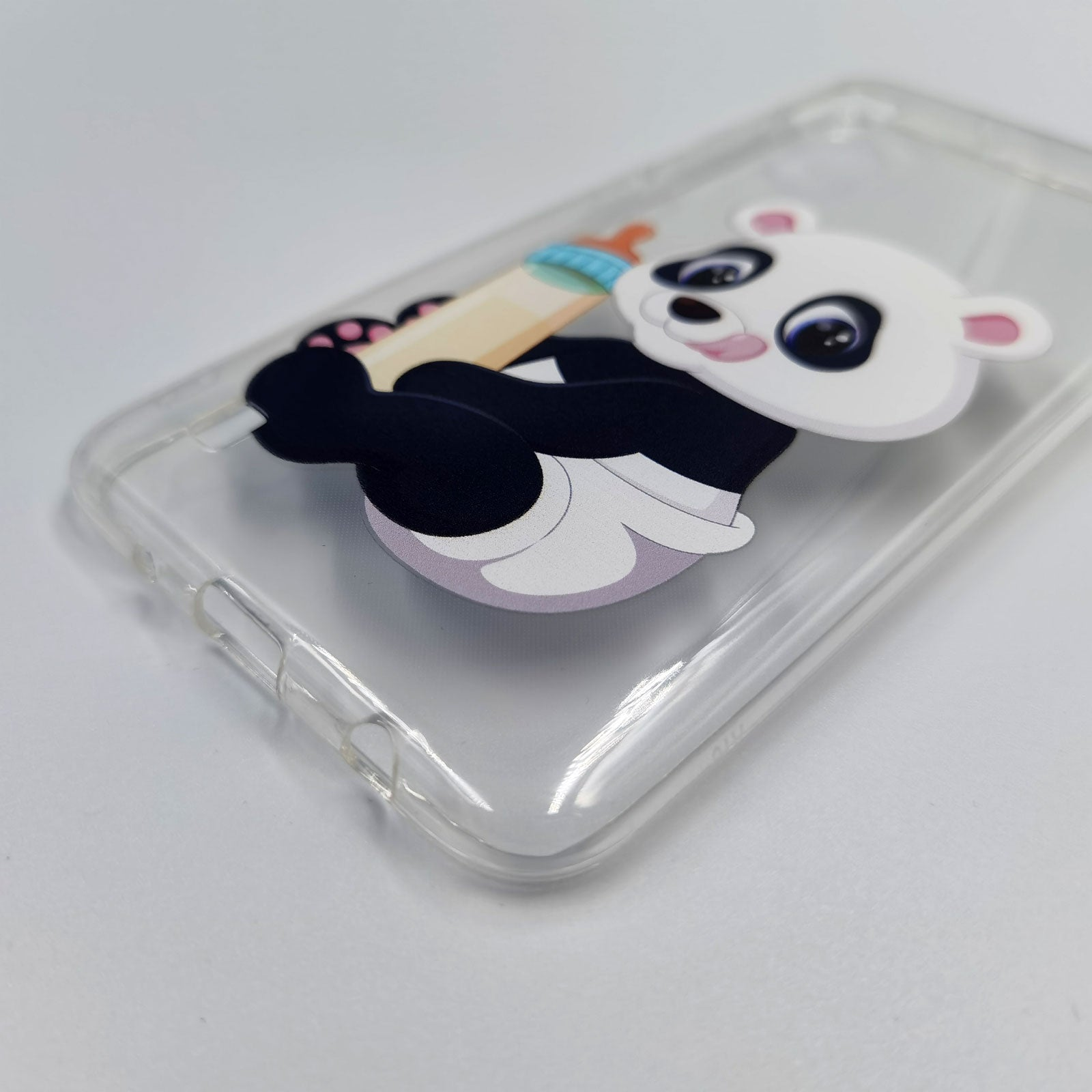 Husa Samsung galaxy A10 model Baby Panda, Silicon, TPU, Viceversa Multicolor