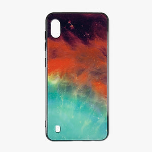 Husa Samsung Galaxy A10 model Glass Nebula, Antisoc, Viceversa Multicolor