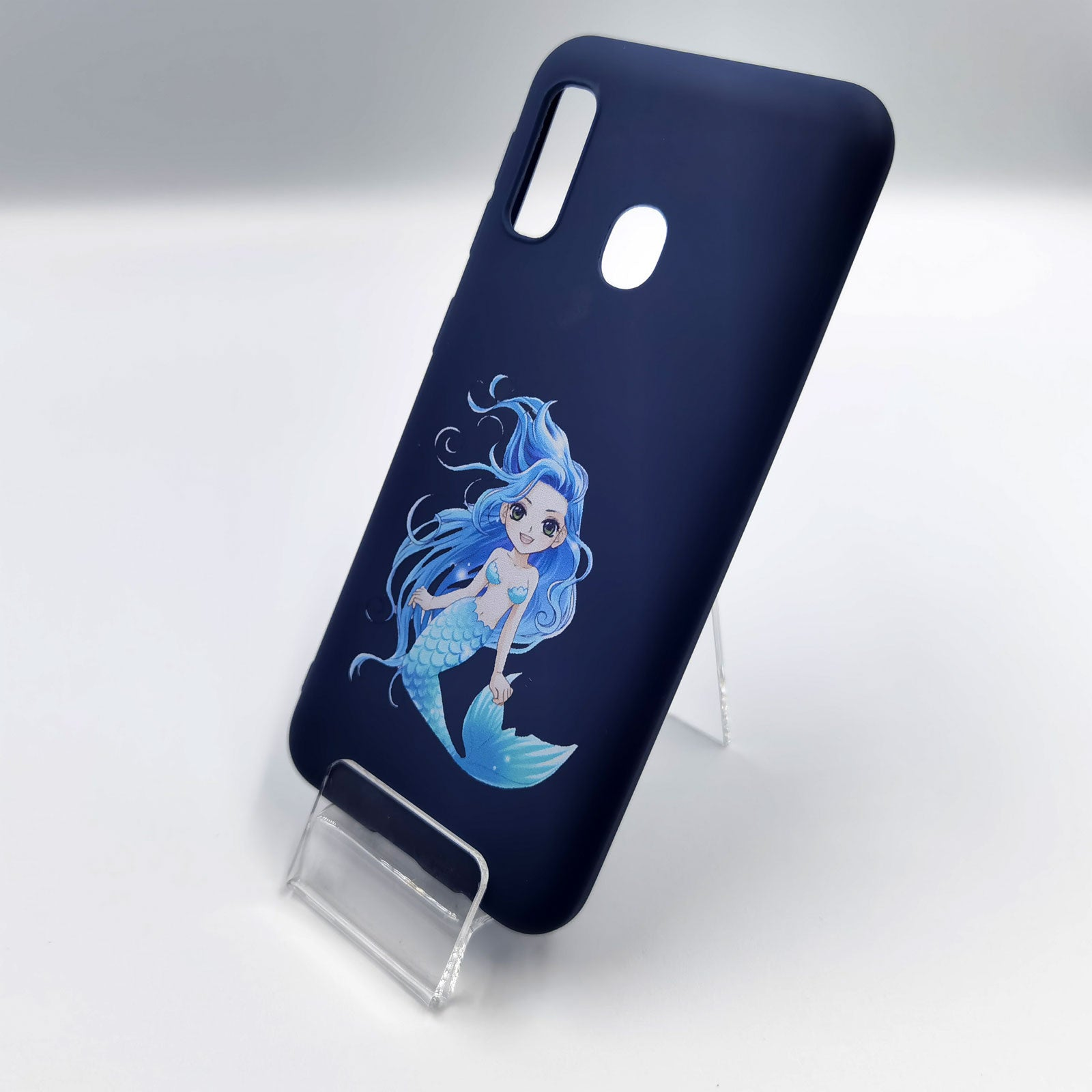 Husa Samsung Galaxy A20e model Blue Mermaid, Silicon, TPU, Viceversa Multicolor