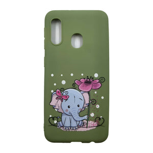 Husa Samsung Galaxy A20e model Sweet Elephant, Silicon, TPU, Viceversa Multicolor