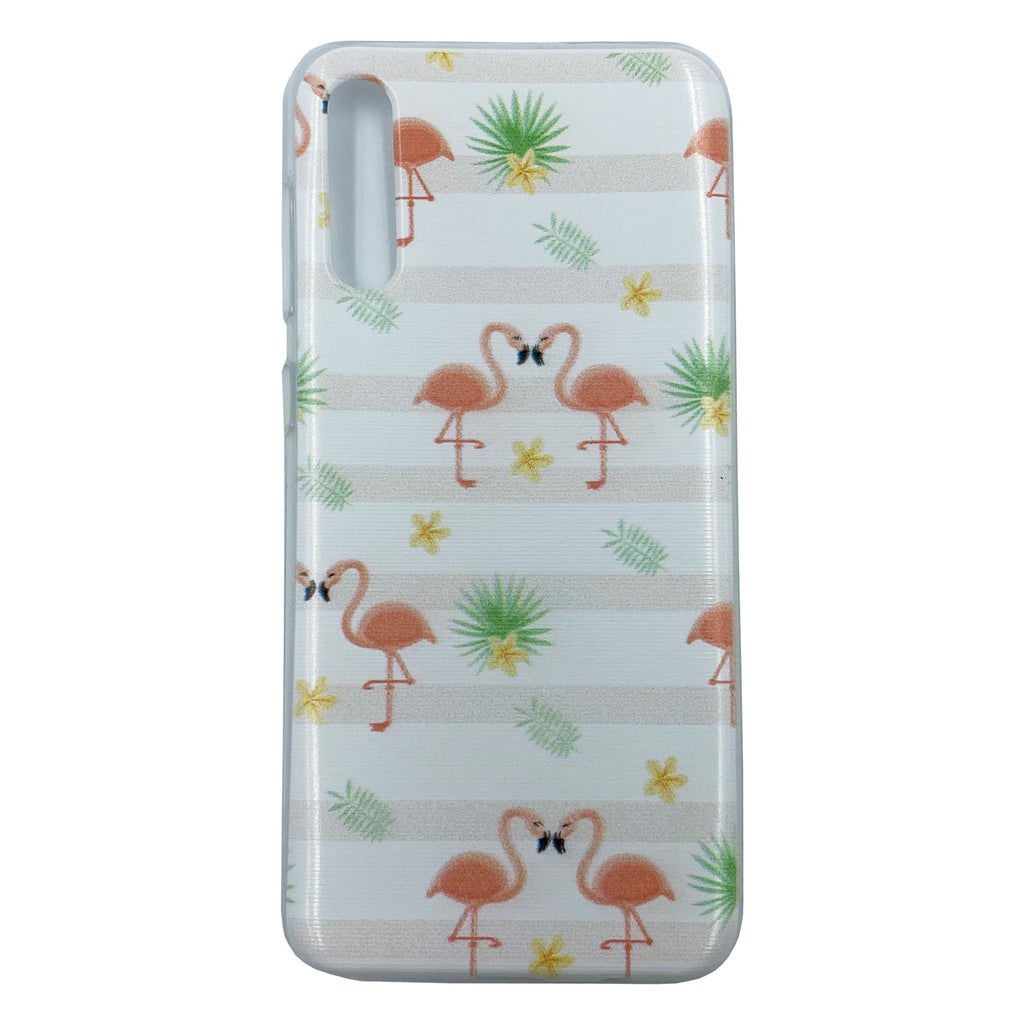 Husa Samsung Galaxy A50s model Flamingo, Silicon, TPU, Viceversa Multicolor