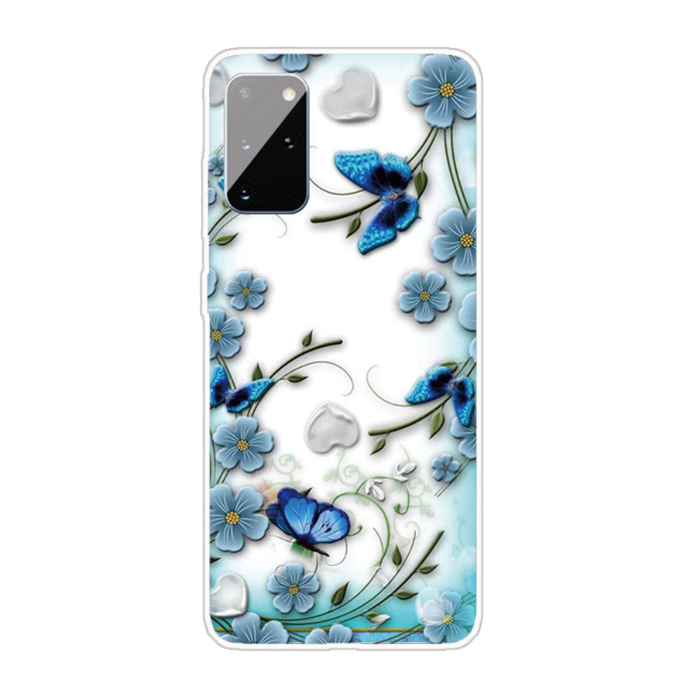 Husa Samsung Galaxy A31 model Butterfly Garden, Silicon, Antisoc, Viceversa Multicolor