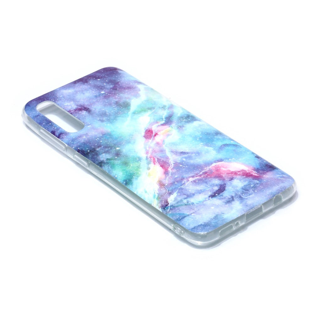 Husa Samsung Galaxy A50 model Cosmic Marble, Antisoc, Viceversa Multicolor