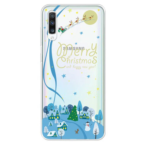Husa Craciun Samsung Galaxy A50 model Merry Christmas, Antisoc, Viceversa Multicolor