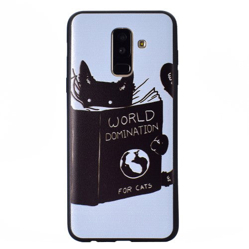 Husa Samsung Galaxy J4 Plus model Word Domination, Antisoc, TPU, Viceversa