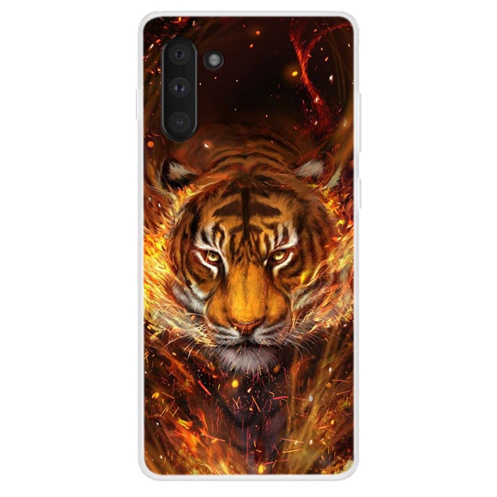 Husa Samsung Galaxy Note 10 model Tiger Spirit, Silicon, TPU, Viceversa Multicolor