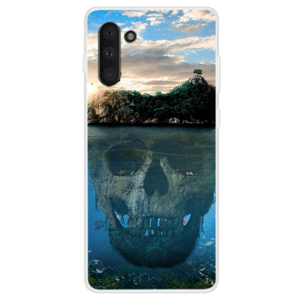 Husa Samsung Galaxy Note 10 model Cursed Island, Silicon, TPU, Viceversa Multicolor