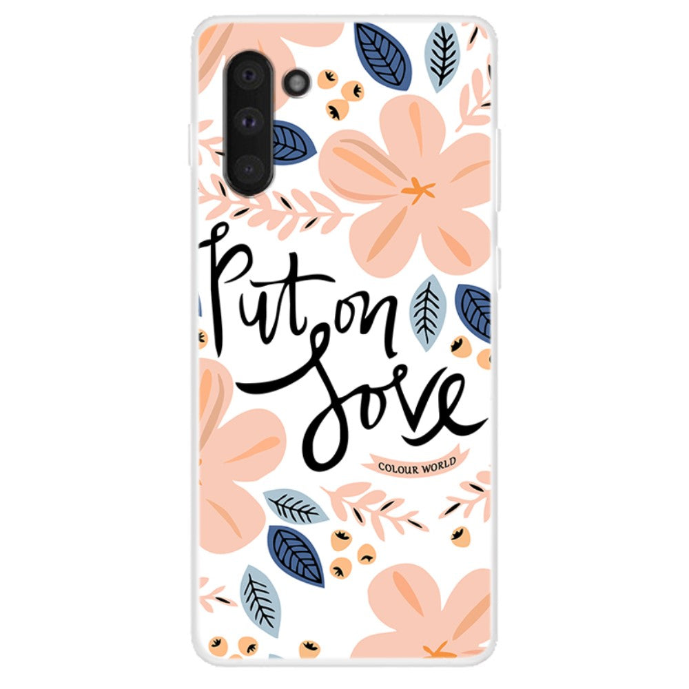 Husa Samsung Galaxy Note 10 model Put on Love, Silicon, TPU, Viceversa Multicolor