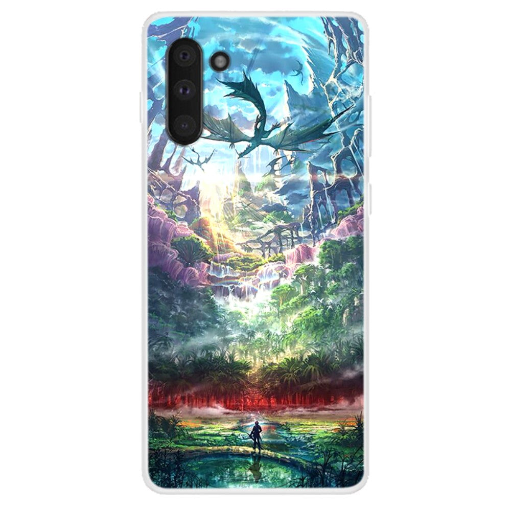 Husa Samsung Galaxy Note 10 model Wonderland, Silicon, TPU, Viceversa Multicolor