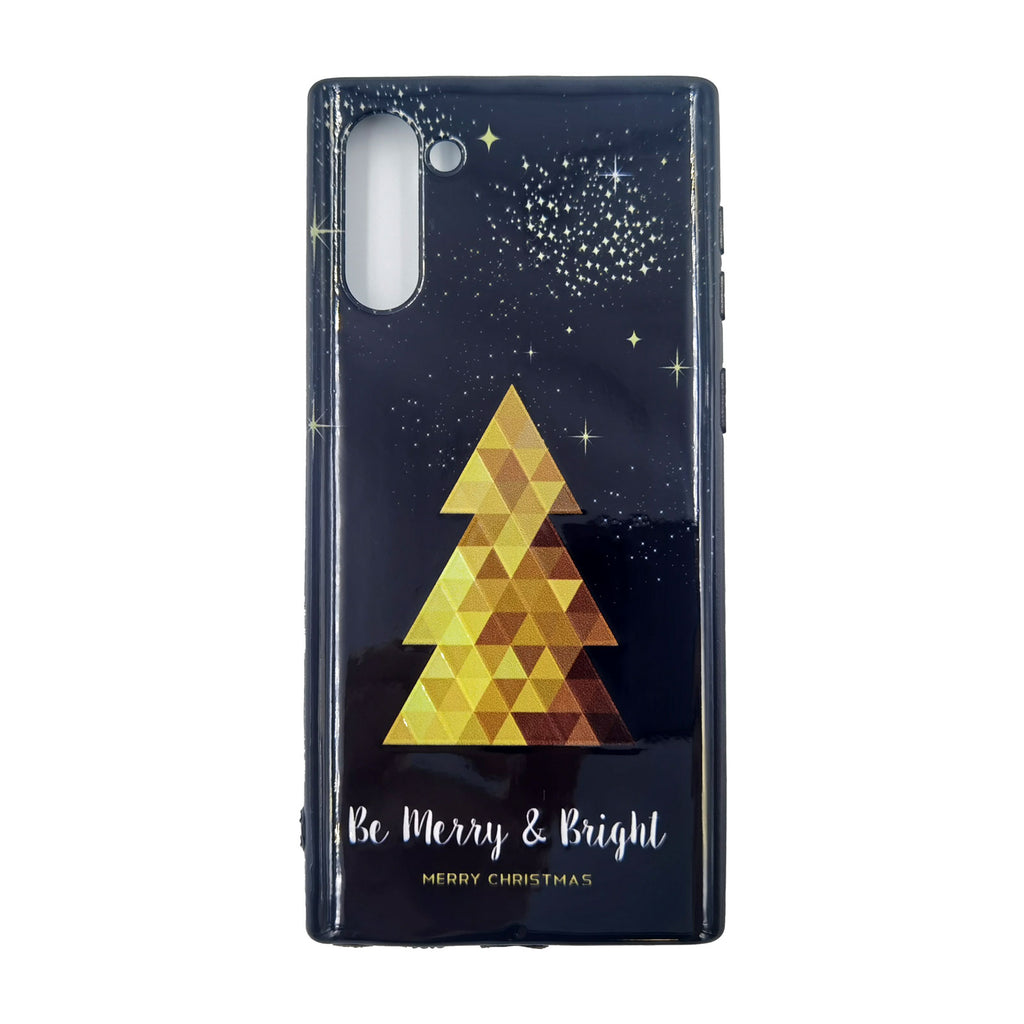 Husa Craciun Samsung Galaxy Note 10 / Note 10 5G Model Merry Christmas, TPU, Viceversa Negru