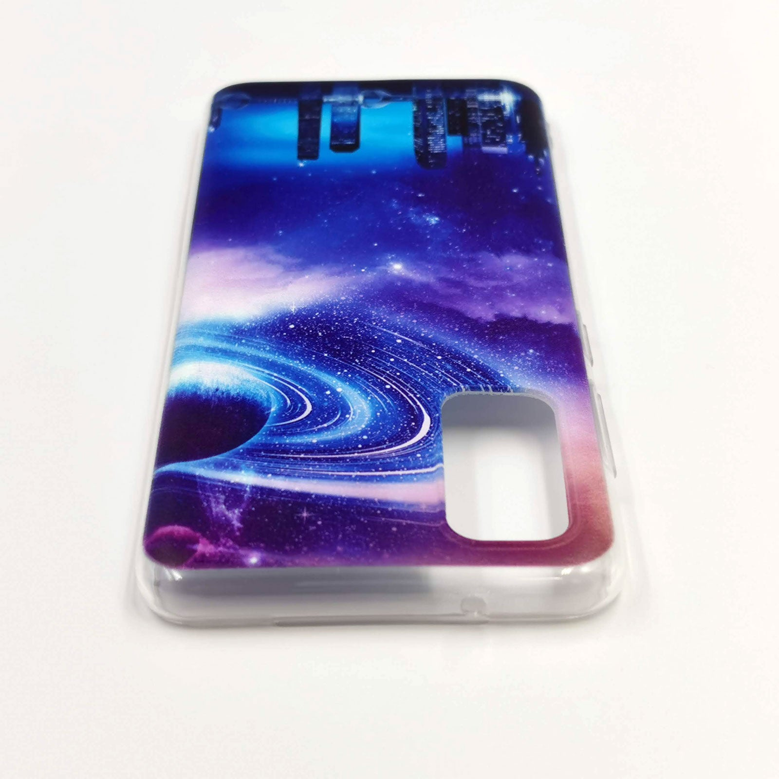 Husa Samsung Galaxy S20 model Titan, Antisoc, TPU, Viceversa Multicolor