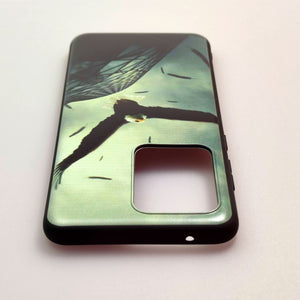 Husa Samsung Galaxy S20 Ultra model Eagle, Silicon, Antisoc, Viceversa Negru/Verde