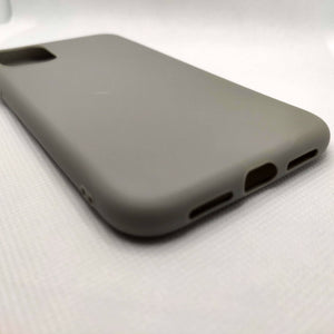 Husa silicon Apple iPhone 11, Antisoc, TPU, Viceversa Gri