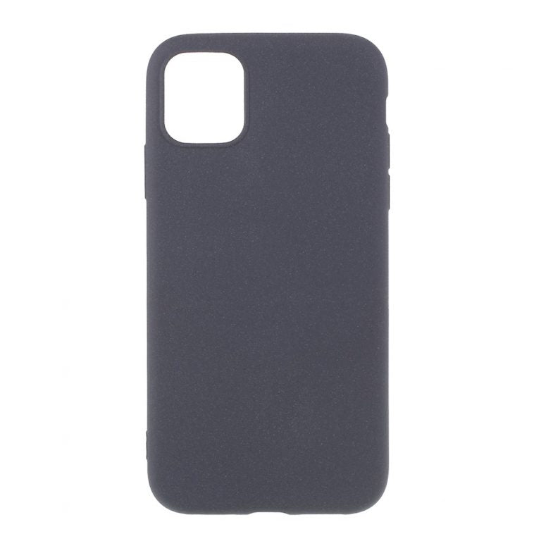 Husa silicon Apple iPhone 11, Gri Mat, Antisoc, TPU, Viceversa