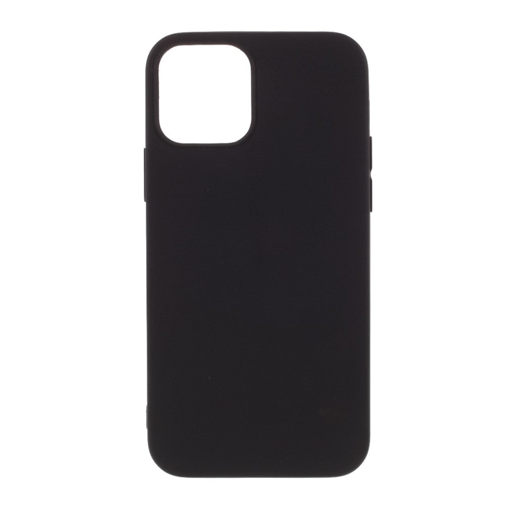 Husa silicon Apple iPhone 12 Matte, Antisoc, TPU, Viceversa Negru