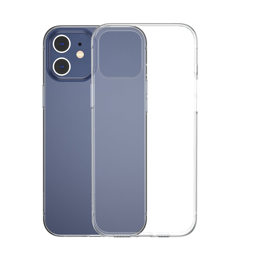 Husa silicon Apple iPhone 12 Matte, Antisoc, TPU, Viceversa Transparent