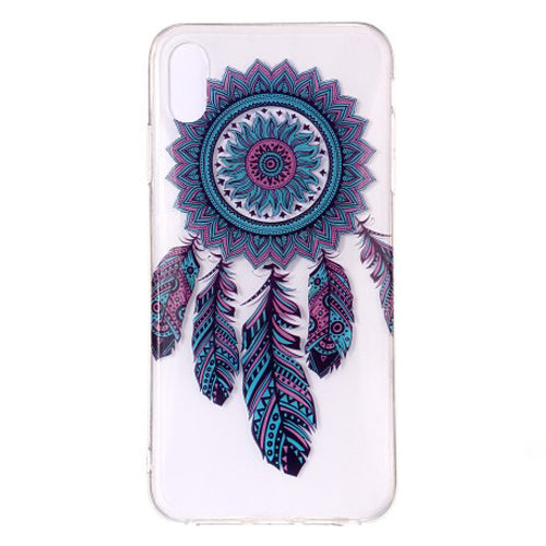 Husa silicon Apple iPhone X / Apple iPhone XS model Feather Dreamcatcher,Tpu, Antisoc, Viceversa Multicolor