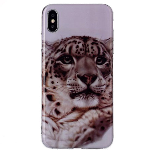 Husa silicon Apple iPhone X / Apple iPhone XS model Leopard,Tpu, Antisoc, Viceversa Multicolor