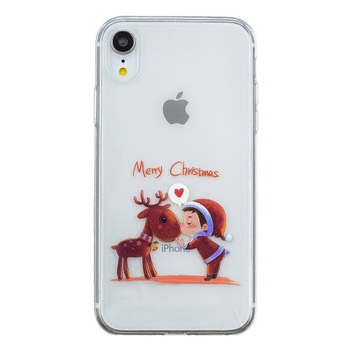 Husa silicon Apple iPhone XR model Merry Chrismas, Antisoc, TPU, Viceversa