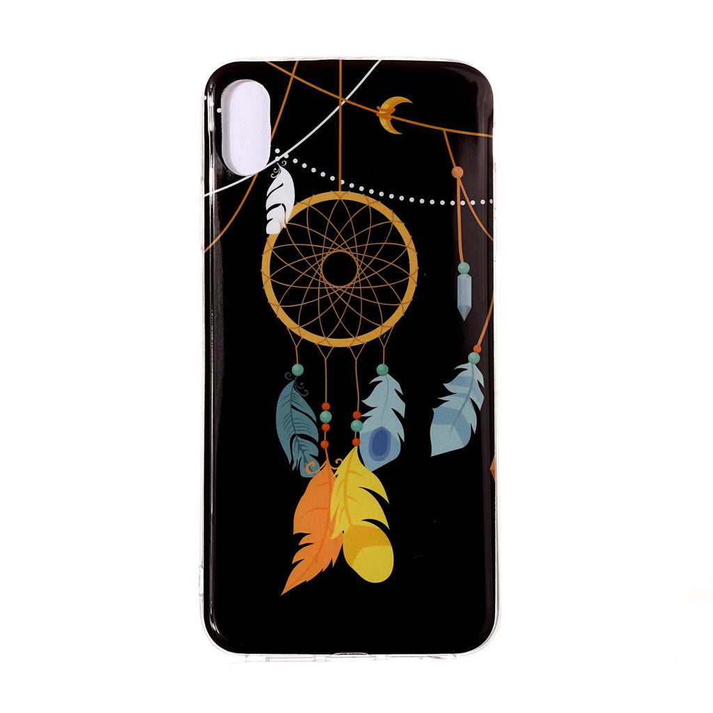 Husa silicon Apple iPhone XR model Model Dreamcatcher, Fosforescent, Antisoc, TPU, Viceversa