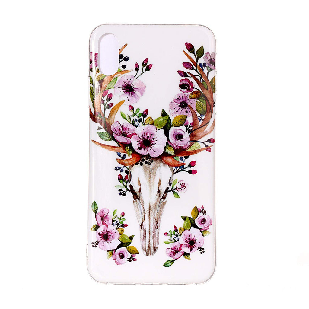 Husa silicon Apple iPhone XR model Model Life, Fosforescent, Antisoc, TPU, Viceversa