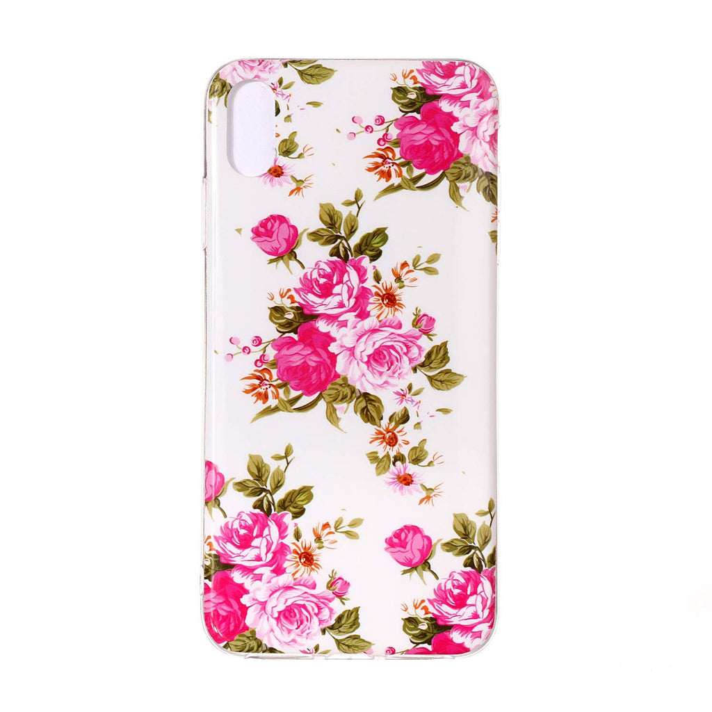 Husa silicon Apple iPhone XR model Model Roses, Fosforescent, Antisoc, TPU, Viceversa