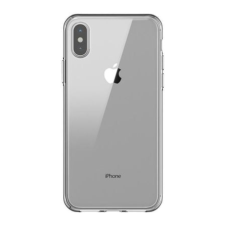 Husa silicon Apple iPhone XS Max, Transparenta,Tpu, Antisoc, Viceversa