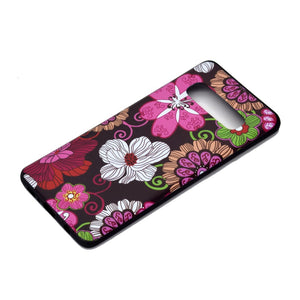 Husa silicon Samsung Galaxy S10 Model Spring Time, Antisoc, TPU, Viceversa - Viceversa Multicolor