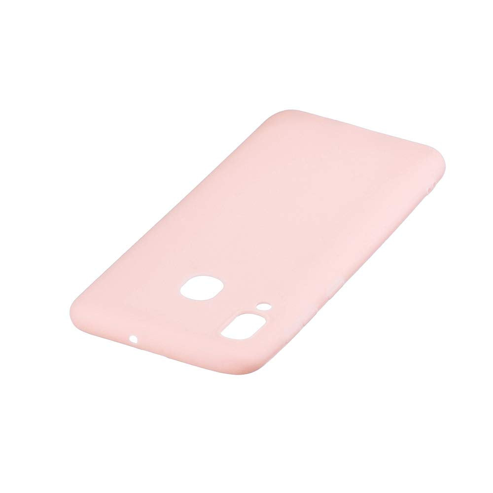 SET 1x Husa silicon Samsung Galaxy A20 Pink + 1x Folie sticla securizata Samsung Galaxy A20 , Antisoc, TPU, Viceversa