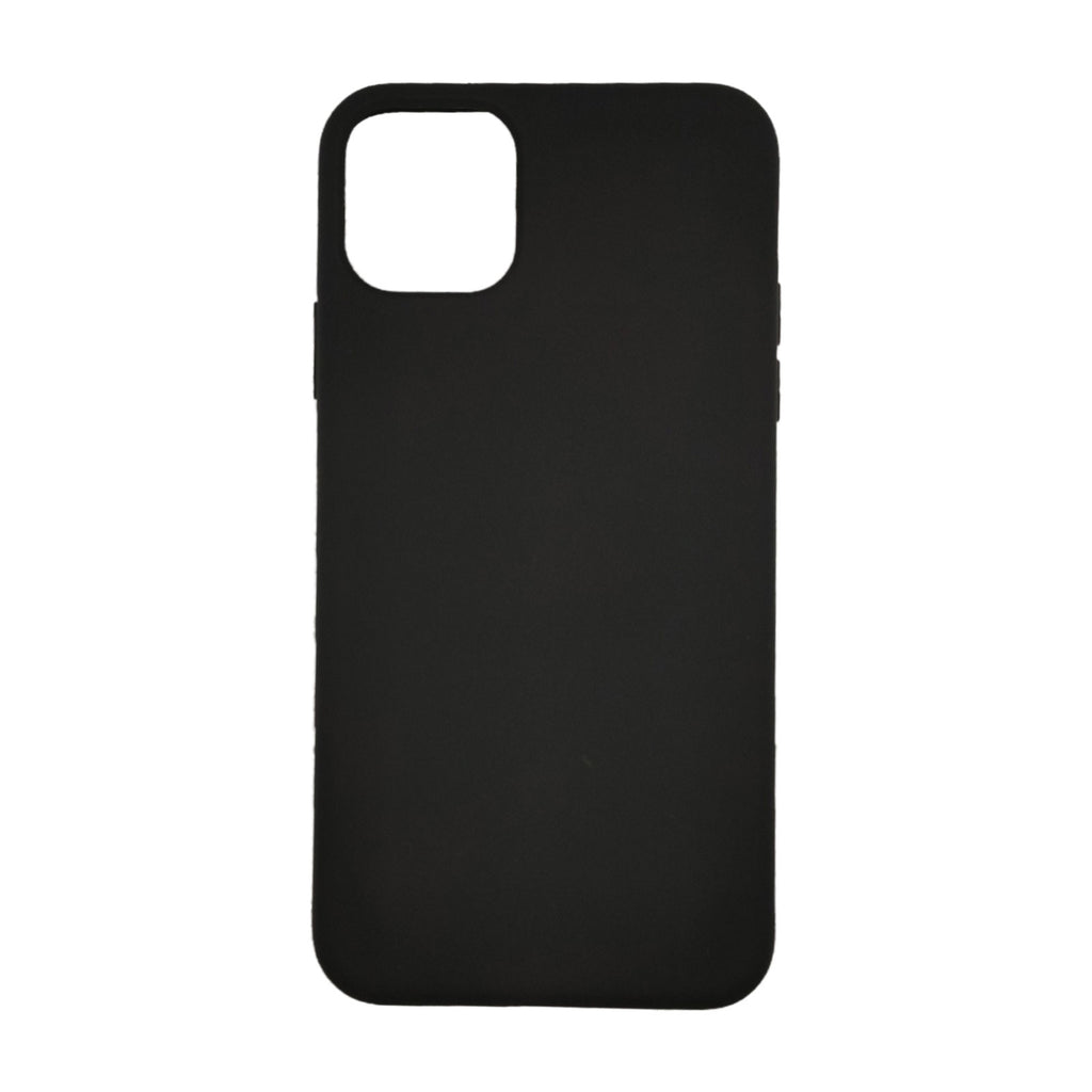 Husa silicon Apple iPhone 11 Pro Max Premium Matte, Antisoc, TPU Negru
