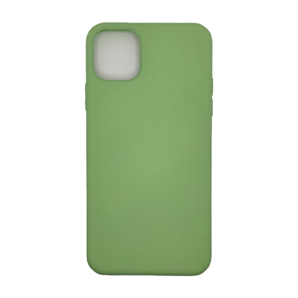 Husa silicon Apple iPhone 11 Pro Max Premium Matte, Antisoc, TPU Verde