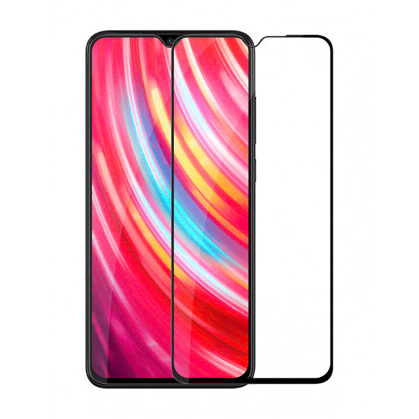 Folie de protectie Xiaomi Redmi Note 8 Pro, Folie sticla securizata 3D Negru, FULL SCREEN,Tempered Glass, Antisoc, Viceversa