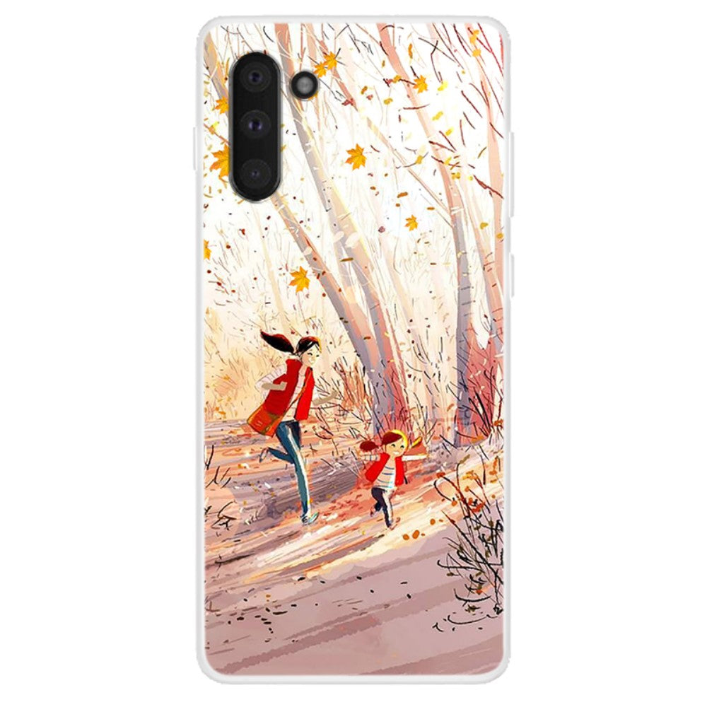 Husa silicon Samsung Galaxy Note 10 model Happiness, Silicon, TPU Viceversa