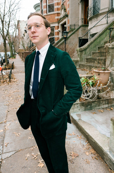 suit custom menswear corduroy nyc brooklyn designer