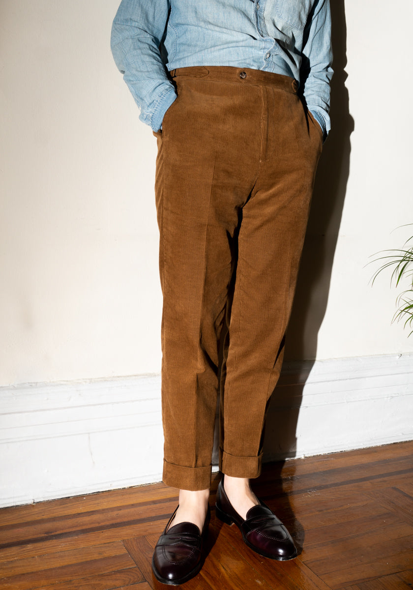 Trousers in Corduroy
