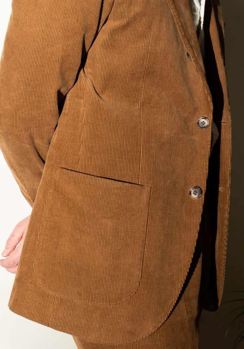 Jacket In Corduroy