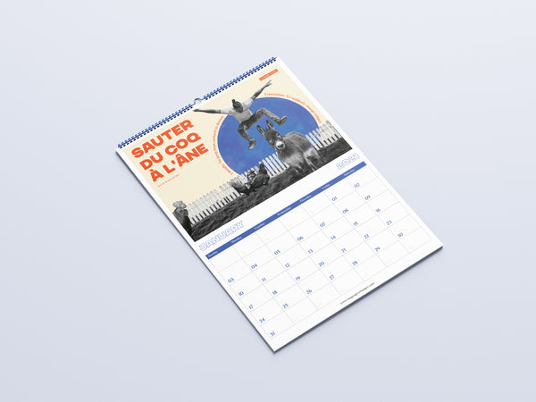 2021 Calendar: Around the World in 12 Idioms