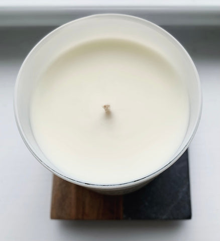 Soy candle minimalist clean ingredients ever upward