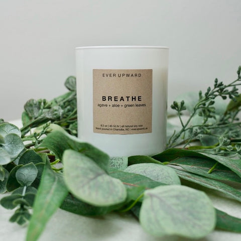 Candle ever upward soy mood booster focus