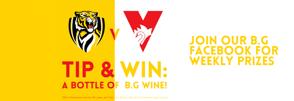 Win Free Wine With Broken Gate Wines Footy Tipping 2014