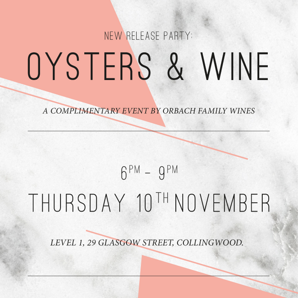 FREE EVENT: Oysters & Wine New Release Party