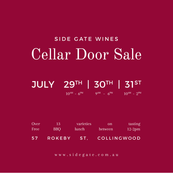 July Cellar Door Sale