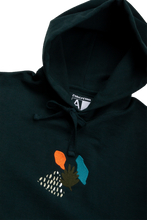 Load image into Gallery viewer, Hoodie Tropical Midnight Verde